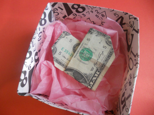 Money origami is popular as a gift, but many people don't have the time or skill to learn how to master this craft.