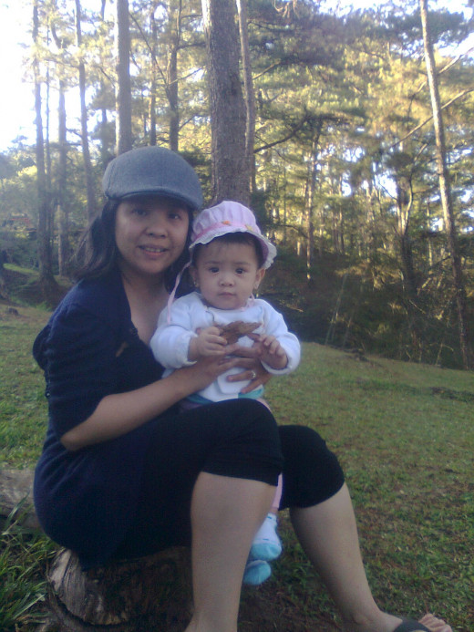 Love you lots mommy and Yna.