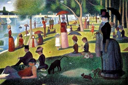 "Georges Seurat painted ""A Sunday Afternoon on the Island of La Grande Jatte"" during the period 1884 to1886. This work is in the public domain in the United States, and those countries with a copyright term of life of the author plus 100 years or less"