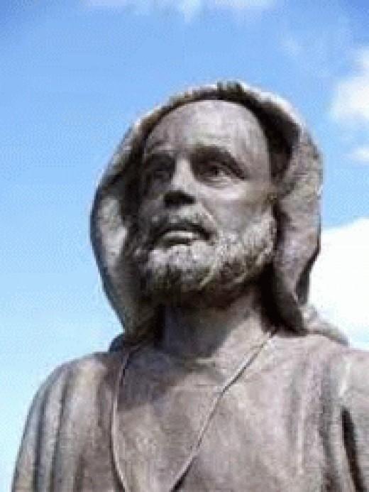 Statue of St Senan