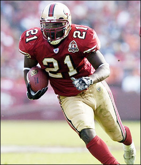 I love Frank Gore, but I hate him.  Not too much to like about him going into this season.