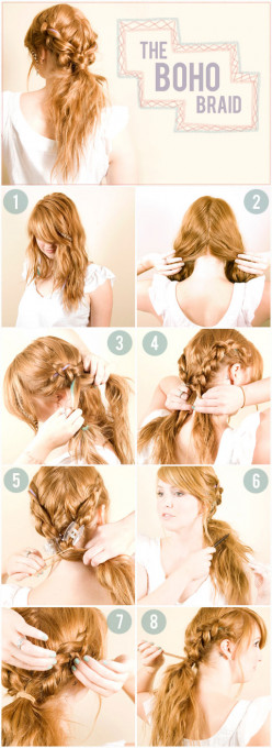 How to Make a Pretty, Fancy Braid That Holds