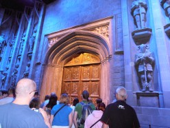 The doors to the Grand Hall and the start of the tour