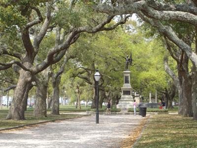 Charleston's Battery Park