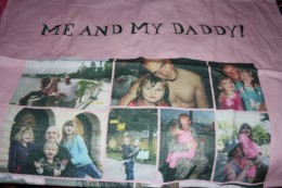 My oldest daughters Daddy's blanket