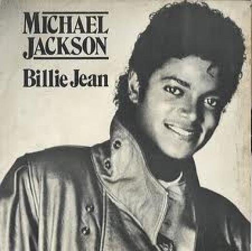 Michael Jackson Album Covers - Billie Jean