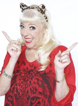 Former Coronation Street barmaid Julie Goodyear