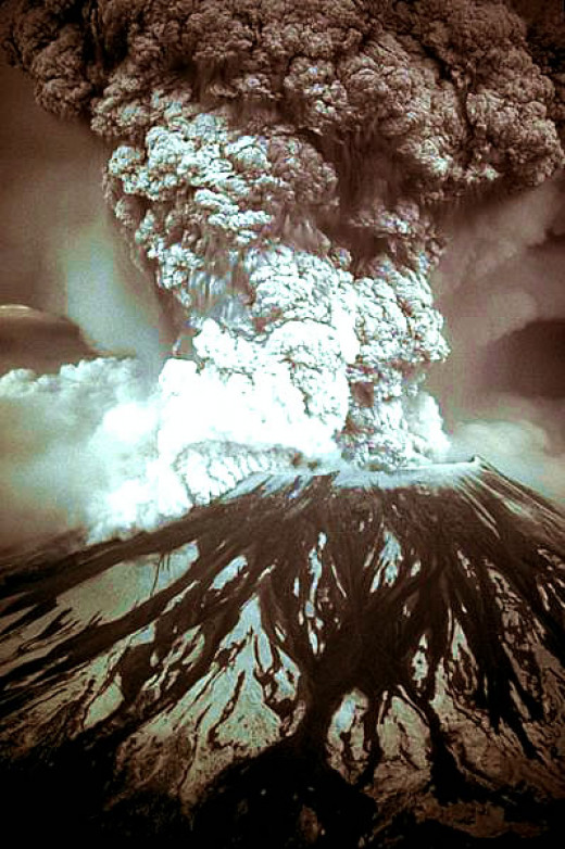 Eruption of Mount Saint Helens