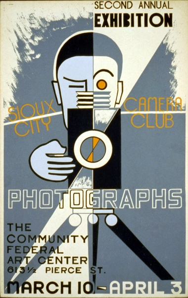 Second Annual Exhibition, Sioux City Camera Club, 1939.  Artist: Unknown.