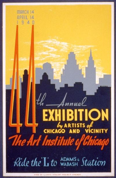 44th Annual Exhibition, The Art Institute of Chicago, 1940.  Artist: John Buczak.