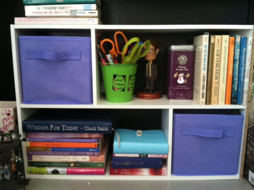 Staying organized throughout the week helps achieve a peaceful feeling