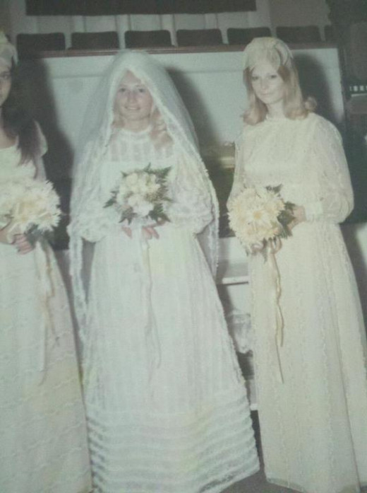 The day our Deborah got married