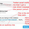 Beware of Twitter Direct Message (DM) Spam and Scams