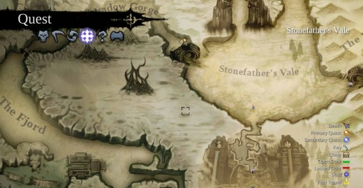 Darksiders 2 Get to the Drenchfort through the Shadow Gorge and then the Fjord
