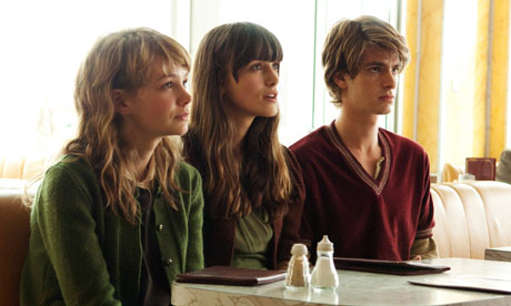 Carey Mulligan, Keira Knightley, Andrew Garfield