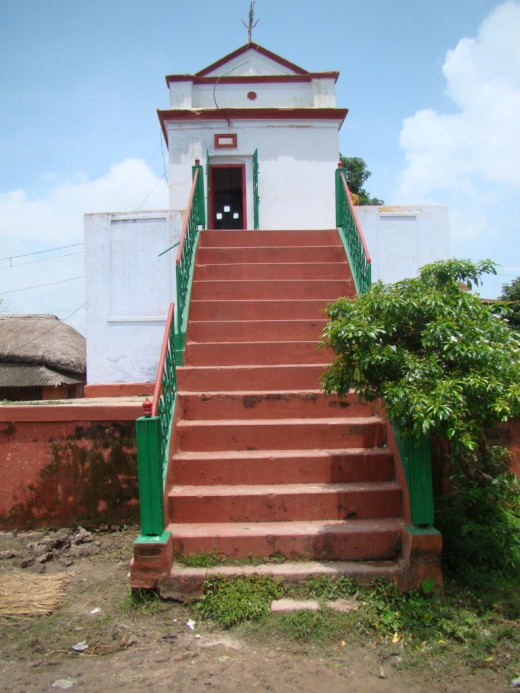 The temple of Lord Shiva (Kshirkhandak)