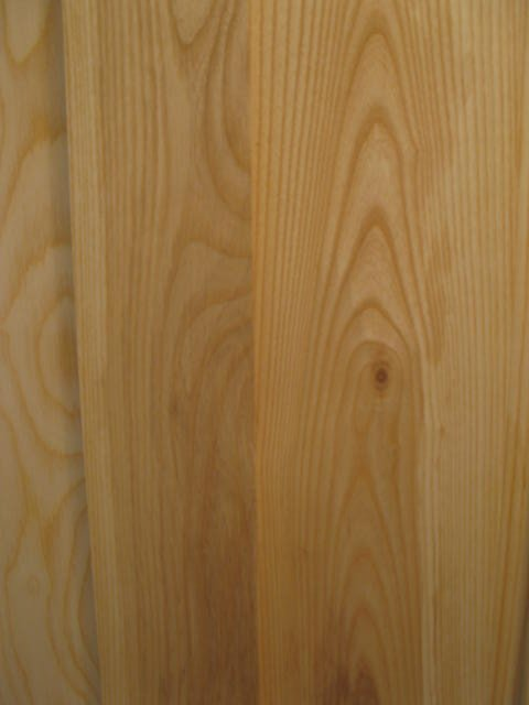 The grain of white ash is beautiful.  This is the wood used to make wooden baseball bats.