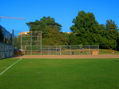 Baseball Diamond at Green Lake