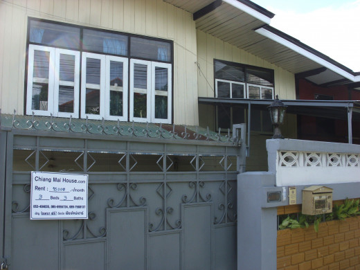 House for rent - Chiang Mai 15.000 bt per month