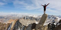 If you discuss the struggles in life, do you agree 'it's about the climb'?