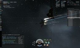 Firing on the first group of enemies, spawning the second.