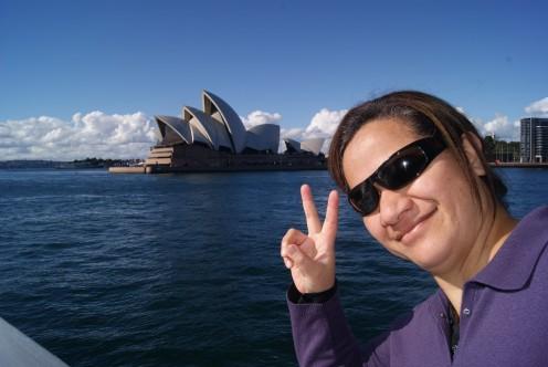 Cruising on Sydney Harbour