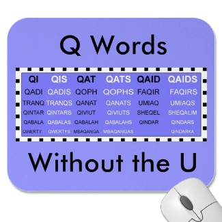 Q words in Scrabble