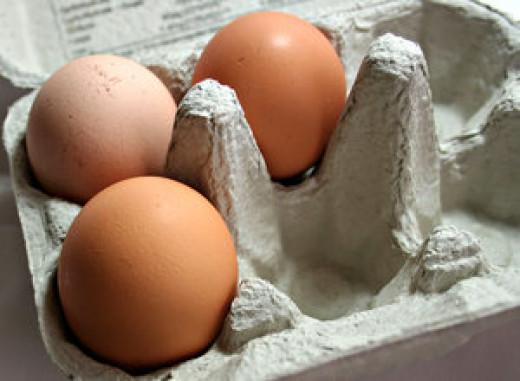 Have a hard boiled egg