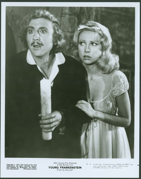 Gene Wilder with Teri Garr