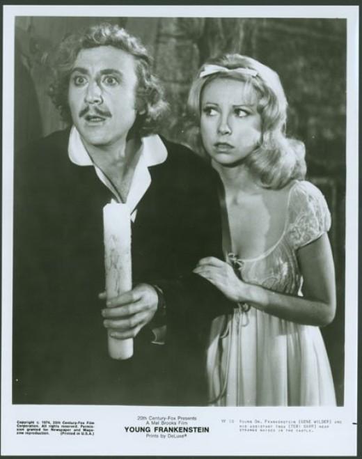 Gene Wilder with Teri Garr