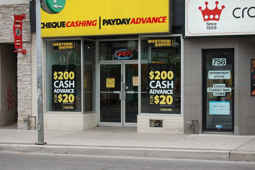 Don't even think about getting a payday loan.