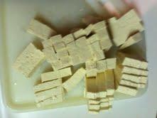 cube the tofu