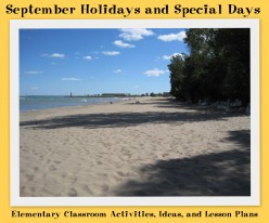 September Holidays and Special Days: Elementary Classroom Activities, Ideas, and Lesson Plans