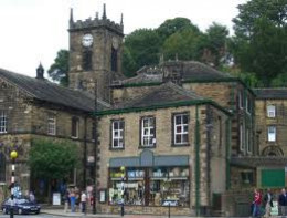 Central Holmfirth, near Huddersield, West Riding with familiar scenery for those who watched the series - it's back again on the 'Drama' channel (20)