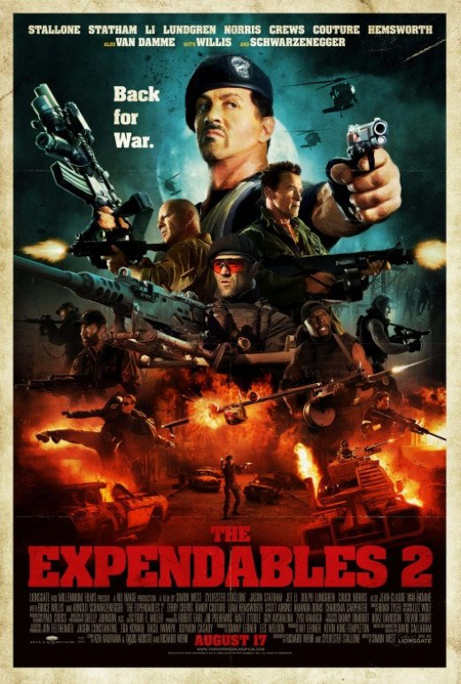 The Expendables 2 Poster #3