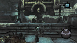 Darksiders 2 Drenchfort Main Hall - when facing the statue, go to the right sided area of the drenchfort first
