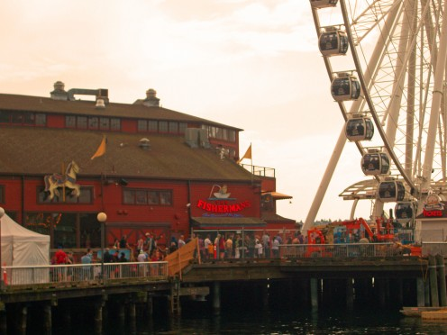 The Fisherman's Restaurant on Pier 57 at the Seattle Waterfront