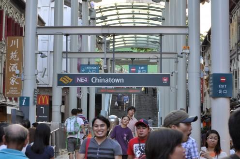 Chinatown MRT.