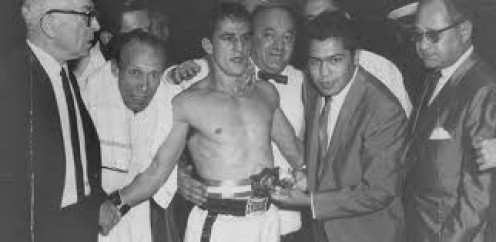 Eder Jofre is a great boxer in the smaller weight classes. As a Bantamweight champ he defended his crown eight times.