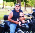 My Daddy Rides a Harley. Please Share the Road With Him.