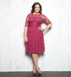 If you love our Smitten Lace Top then you will just adore our Luna Lace Dress! With the same amazing lace and mesh backing to hide nude bra straps; this dress ups the ante in feminine style.  Also comes in Onyx and Raspberry.  Price:  $158