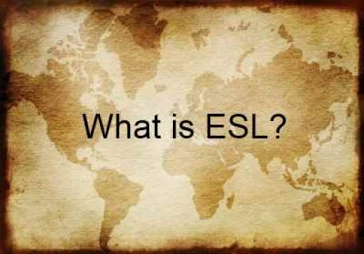 ESL or English as a Second Language is taught in many countries world wide.