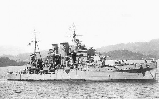 HMS Exeter, World War II