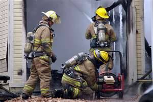 Firefighters often remove their mask for overhaul assuming they are safe. CO gas is still present.