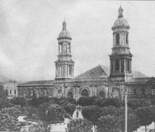 The Cathedral before the 1939 eartquake