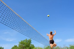Step by Step Guide to Hitting  a Volleyball.