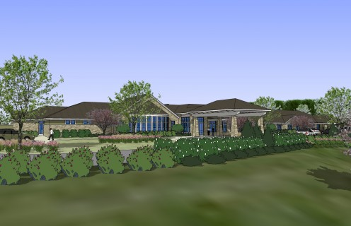 A rendering of the new memory care facility proposed for Brookfield, Wis. by Silverado Senior Living Center, based in Irvine, Calif.