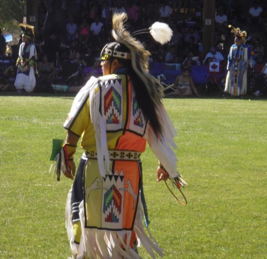 Dancer waits for the drum to start