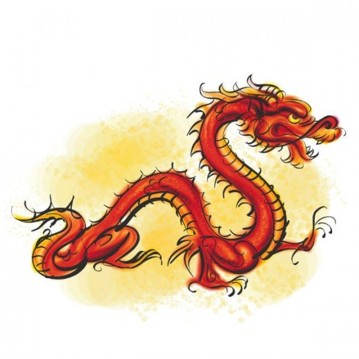 Asian dragon