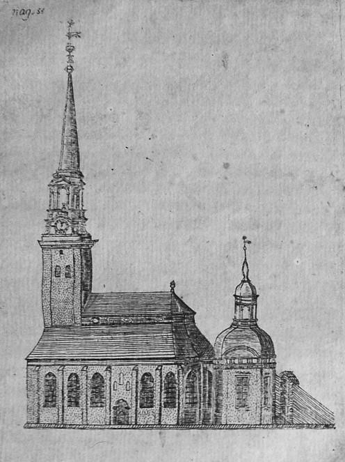 German church, Gothenburg, c. 1730